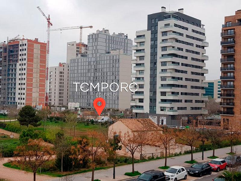 Obras Edificio Tempore Marzo 2021